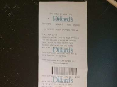 Dillards - Mr. Will Young or Mr. Williams in the Mens dept. gives very poor cust. service