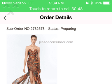Tbdress Shipping Service review 219036