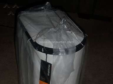 Amazon Simplehuman Trash Can review 146214