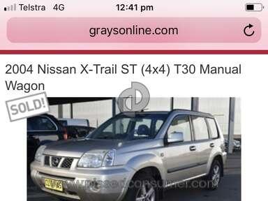 GraysOnline 2004 Nissan X Trail St Car review 411444
