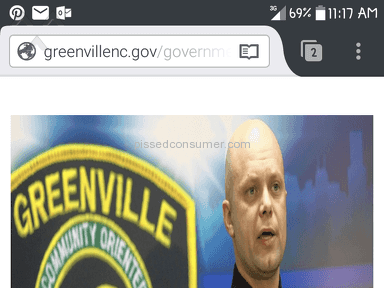 Greenville North Carolina Police Department - Racist Police Force