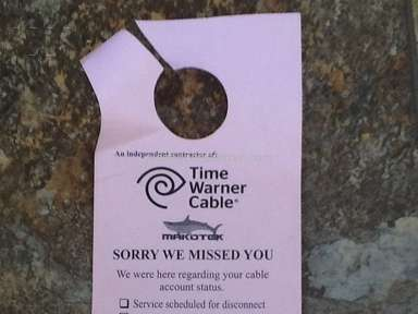 Time Warner Cable - Unethical Harrassment