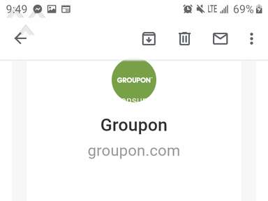Groupon Gift Cards, Rewards and Cashbacks review 575665