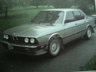 CCC Information Services - BMW 1987 535is