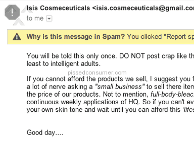 Isis Cosmeceuticals Cosmetics and Toiletries review 109711