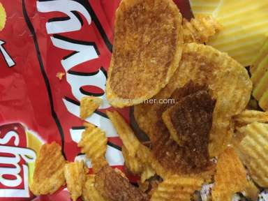 Poor Quality Frito Lay product wavy Bar B Q