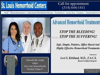 St Louis Hemorrhoid Centers - Surgery Review from Edwardsville, Illinois