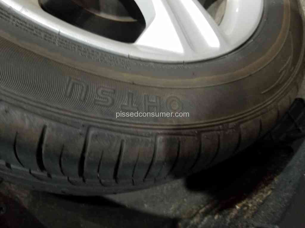 634 Discount Tire Reviews and Complaints @ Pissed Consumer