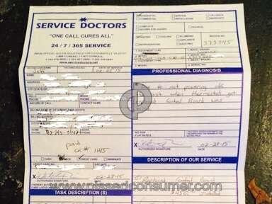 Service Doctors Repair review 63143