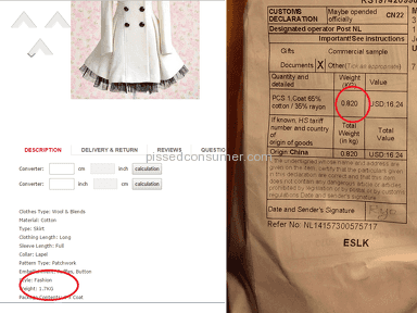 Dresslily Coat review 58061