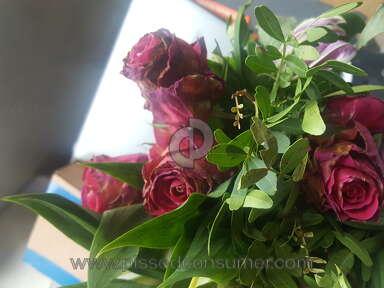 Prestige Flowers - Dead flowers received twice