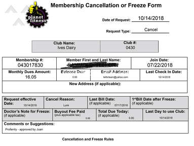 "Planet Fitness - My Membership Got Cancelled For Being a ""Lunk"""