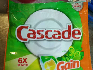 Cascade Clean Dishwashing Detergent Review from Seneca, South Carolina