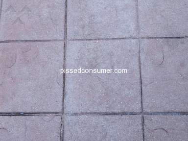 Valspar - WetLook concrete sealer is NOT WetLook
