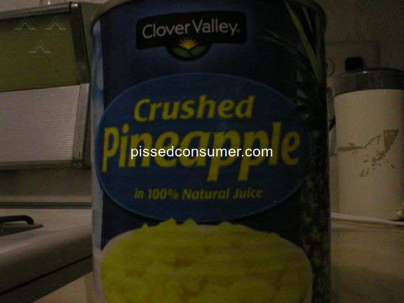 Clover Valley Canned Pineapple