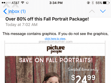 Picture People Coupon Review from Lakewood, California