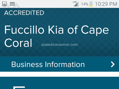 Fuccillo Kia Of Cape Coral - Car jaked by billy