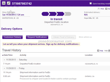 Fedex Transportation and Logistics review 32161