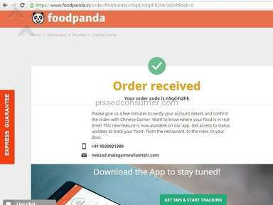 Foodpanda Delivery Service review 123995
