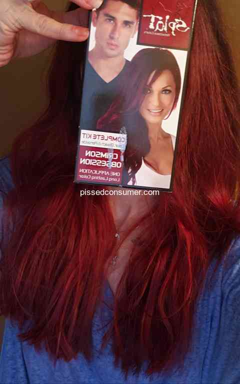 152 Splat Hair Color Hair Dye Reviews And Complaints Pissed Consumer