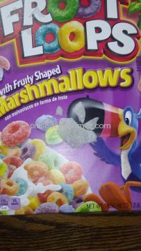 Kelloggs Froot Loops Marshmallow Cereal