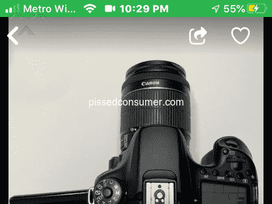OfferUp Canon Camera review 678209
