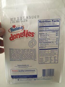 Hostess Brands Donettes Doughnut
