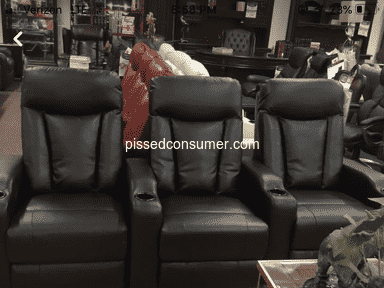 Bel Furniture - False advertising and rude manager (Tomball pkwy)