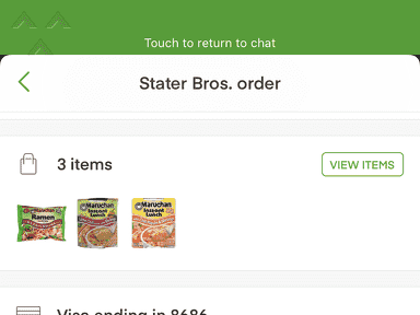 Instacart Delivery Service review 558554