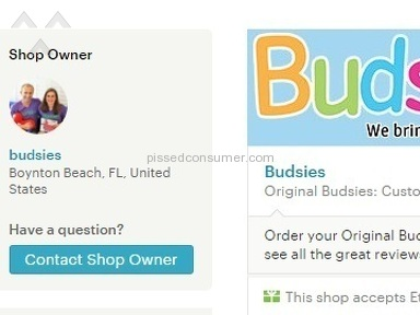 Budsies - Poor quality, MADE IN CHINA!