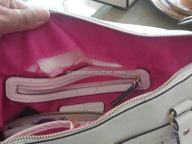Kohls - Juicy purse ripped from inside stitching twice in less than 2 months