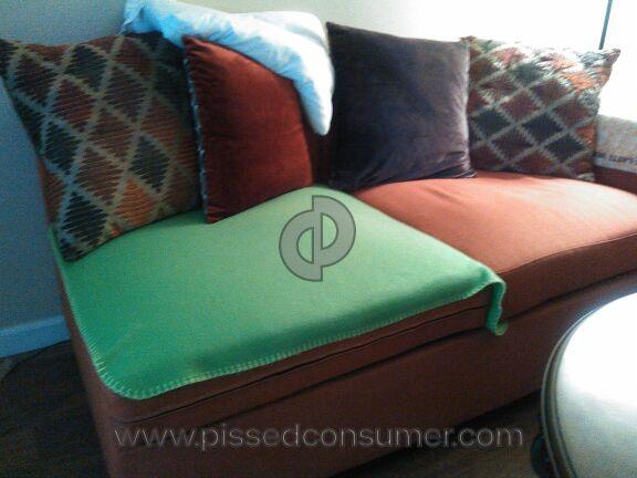 Poundex Bobkona Dayton Linen Sofa