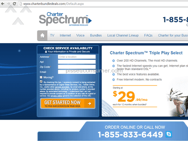 Charter Communications - I have been rescued from never ending term contracts!
