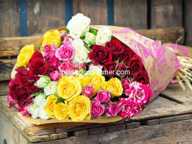 Prestige Flowers - AVOID THIS COMPANY - LISTEN TO THE REVIEWS