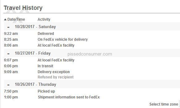 Fedex Bad Service They Lie With The Info They Post About The