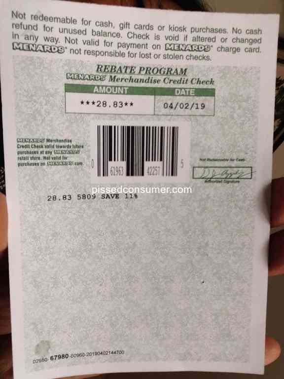 268 Illinois Menards Reviews and Complaints @ Pissed Consumer