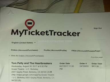 MyTicketTracker - TOTAL SCAM! WORST EVER!
