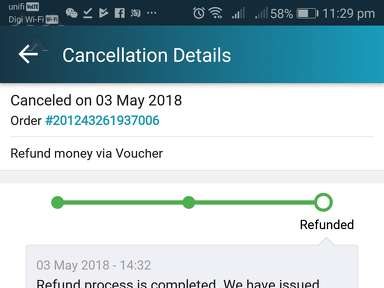 Lazada Malaysia Delivery Service review 291616