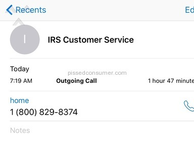 Irs Customer Care review 154914