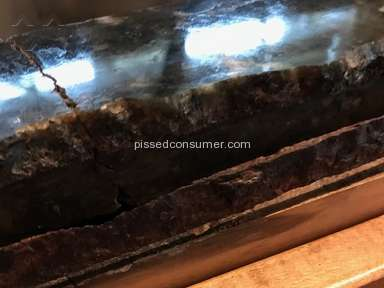 Home Depot - Damaged Granite Counter Top