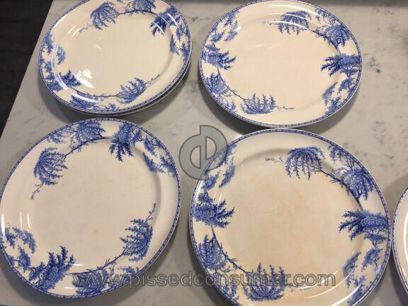 Pottery Barn Plate