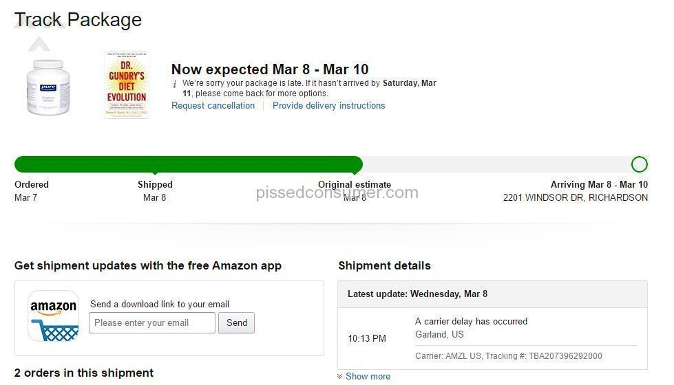 very disappointed in amazon service going downhill fast oct 07