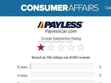 Payless Car Rental Rentals review 137043