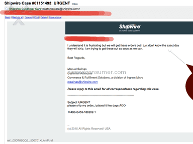 Shipwire - Lost 10k and woke up in deep financial loss