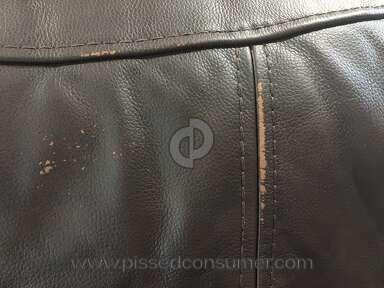 Sofa Mart - Leather Sectional sofa
