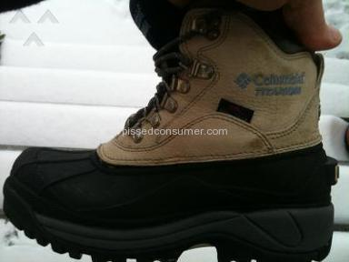 Columbia Sportswear - Columbia Winter Boots break !!!