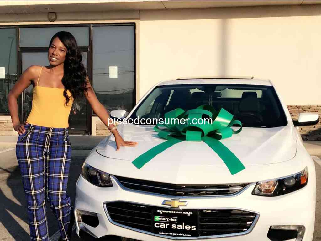 Enterprise Car Sales Very Pleased Jun 10 2018 Pissed Consumer