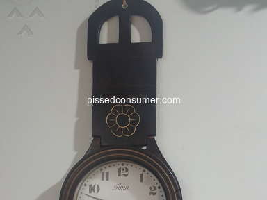 Pepperfry - Bought a wall clock worth Rs. 1900