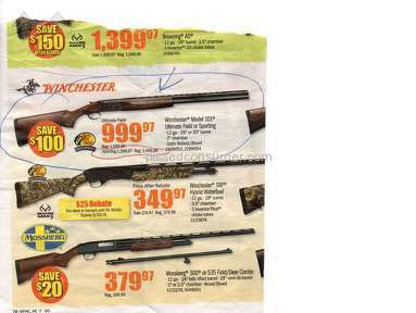 Bass Pro Shops - Bait and switch shotgun on sale for $999, rung up $1399.