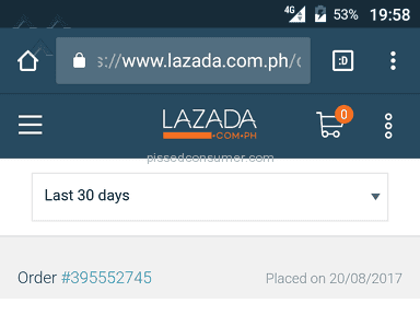 Lazada Philippines Delivery Service review 227490